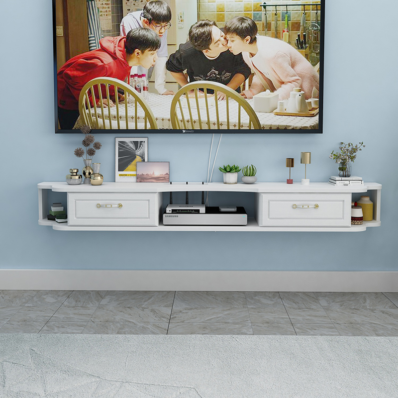热销111件包邮壁挂电视柜现代简约小户型置物架