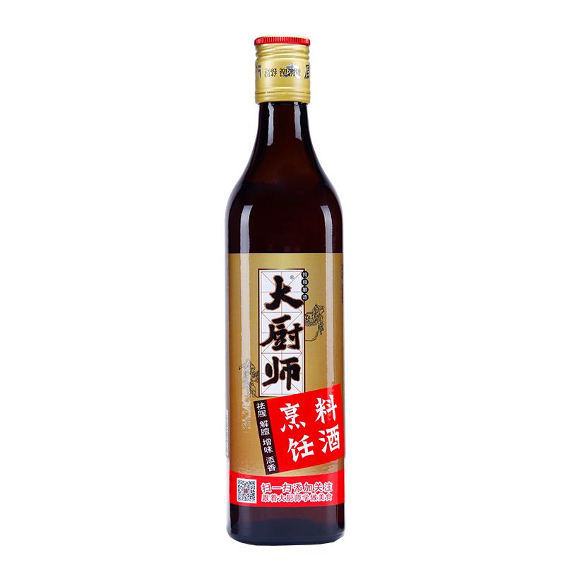 同里红大厨师料酒烹饪料酒纯粮酿苏州特产料酒500ml*6瓶整箱包邮