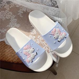 韩版居家室内外穿少女心可爱凉拖鞋