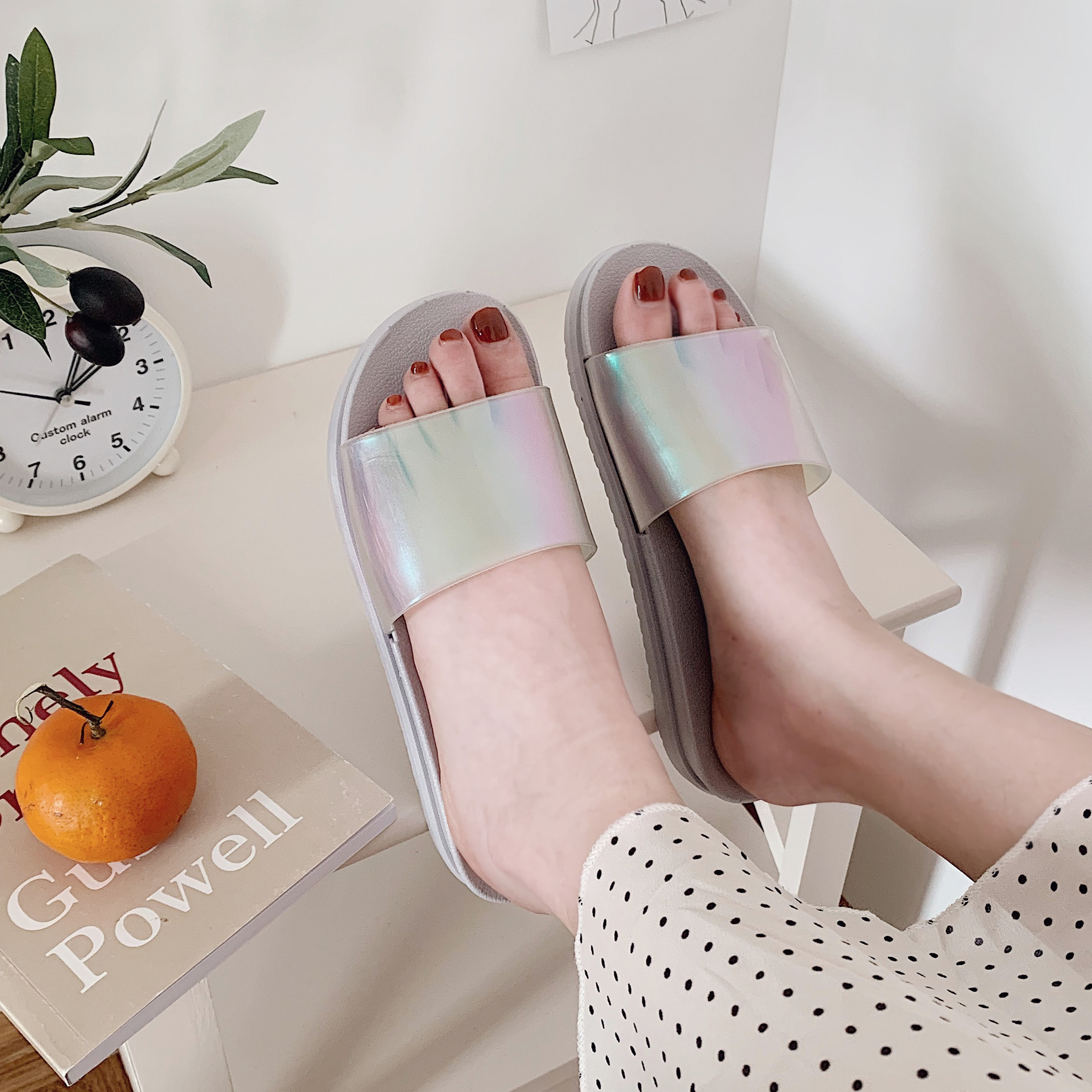 网红ins女夏2019新款防滑凉拖鞋质量如何?