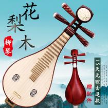 花梨木柳琴原木色花梨木柳琴学习演奏考级民族乐器可货到付款
