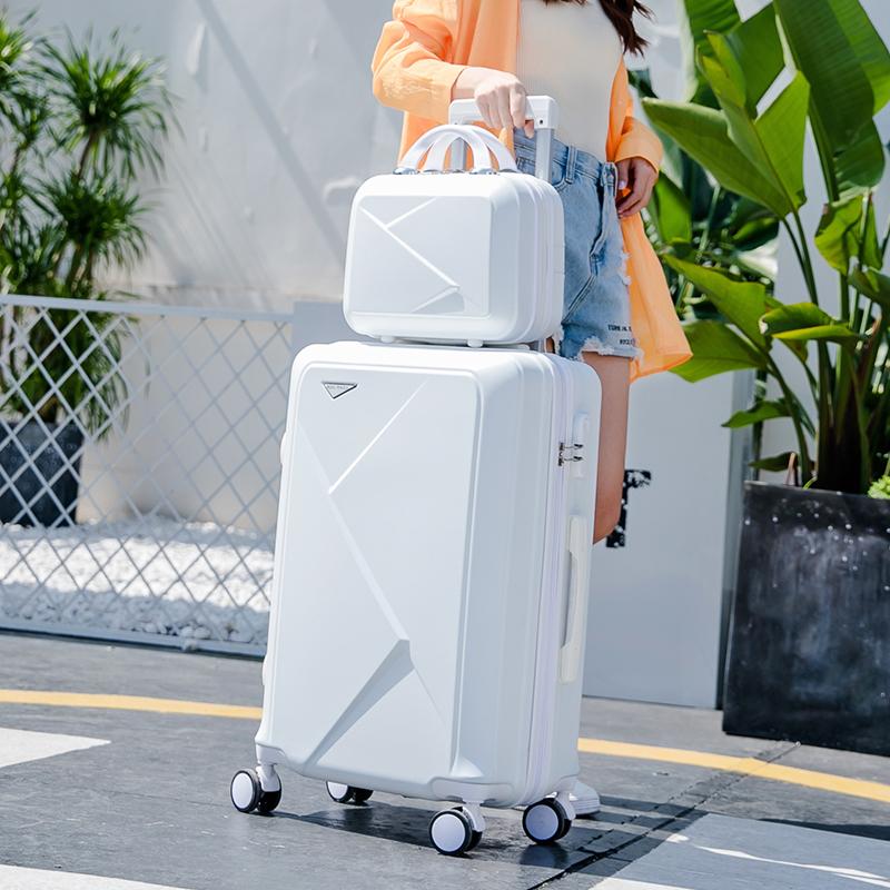 行李箱网红ins20寸小型学生万向轮旅行箱子母箱男女潮拉杆箱24寸
