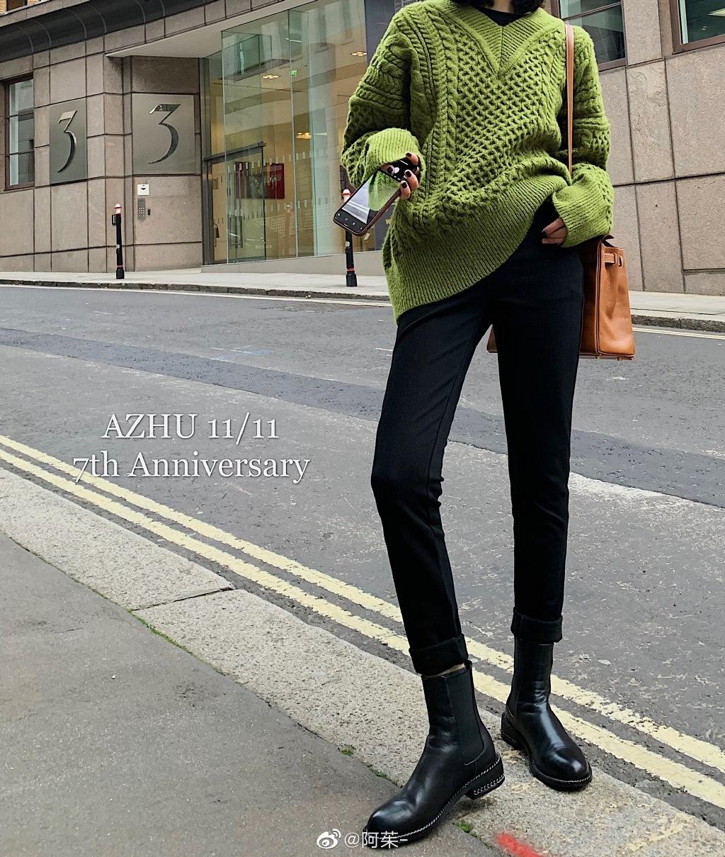 AZHU 阿茱 加绒牛仔裤女高腰冬季小脚裤新款显瘦小个子紧身长裤
