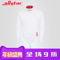 Allstar Oz FIE certified 800N Bull star Child Mens fencing competition suit top 9500J