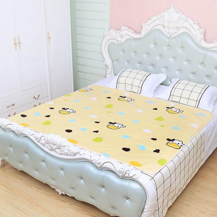 夏季纯棉纯棉棉质小棉垫子褥子透气睡觉床垫宝宝新生婴儿隔尿垫