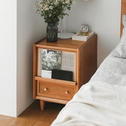 木邻/阑珊35cm北欧日式实木床头柜