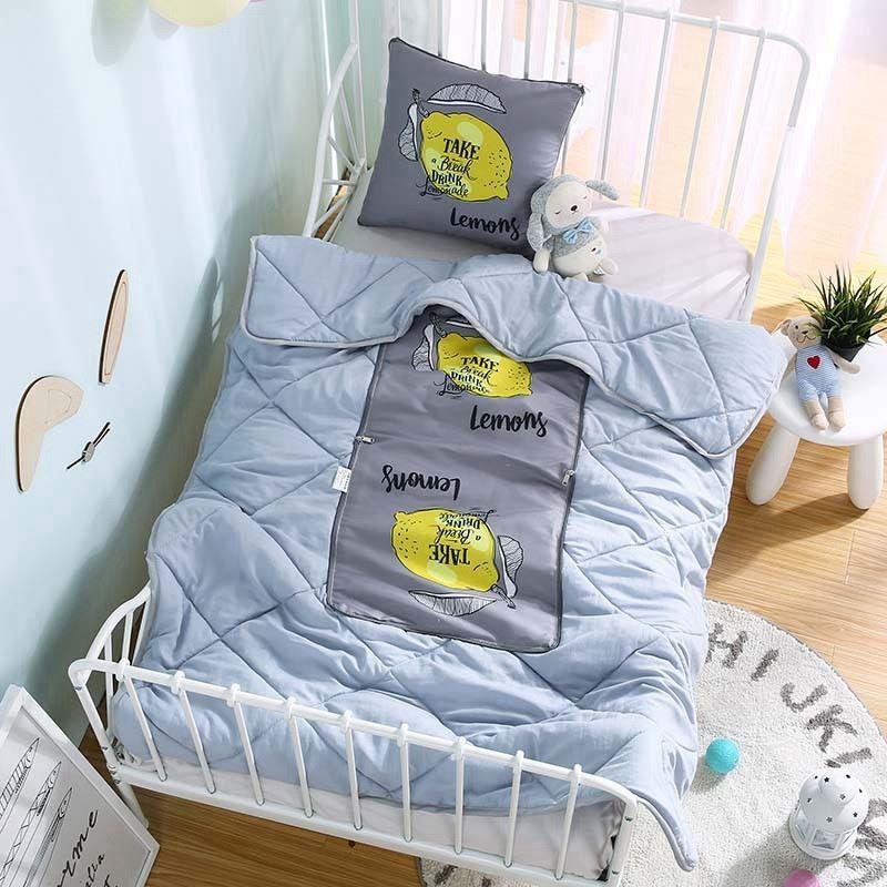 午睡车用多功能卡通车内教师节抱枕被一对拍2双面两用可被子加厚