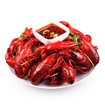 (2nd half price) Sihong spicy crayfish 4-6 money cooked spicy 13 fragrant garlic garlic sauce ready-to-eat