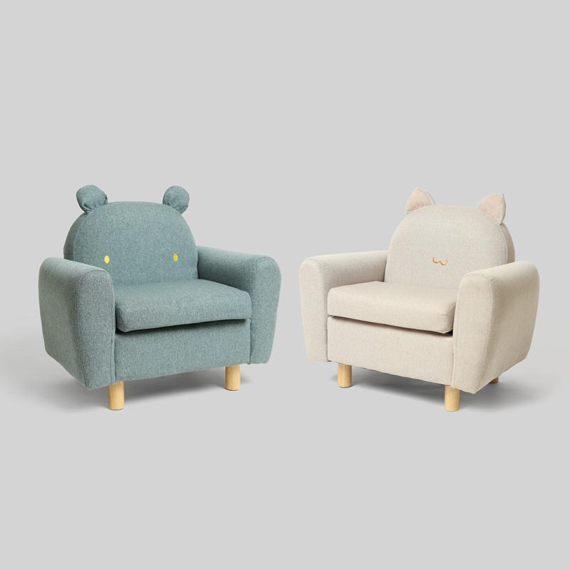鹿早动物造型小沙发宝宝阅读座椅不包邮