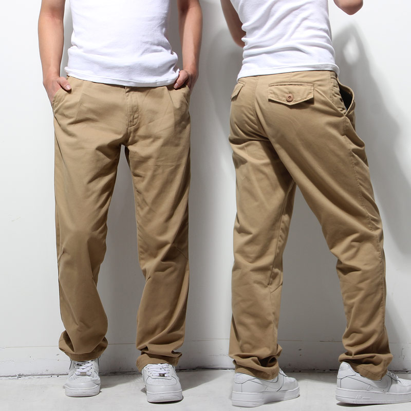 Casual pants mens autumn and winter new business trousers for young and middle-aged men