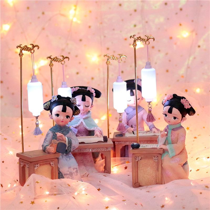 生日礼物女创意送女友闺蜜朋友女孩实用的古风新年中国风情人节小
