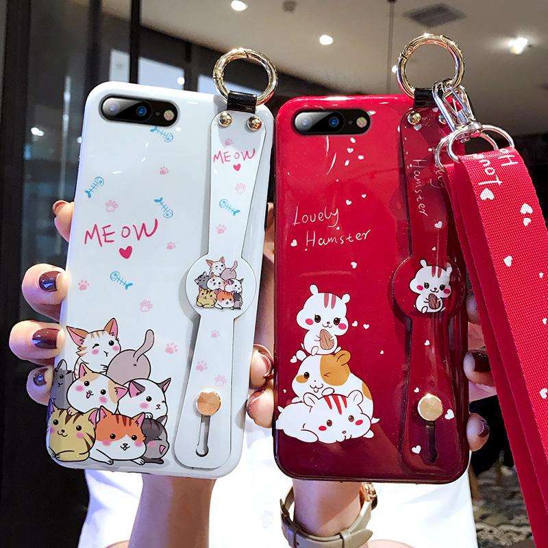 iphone6plus苹果x新款腕带手机壳