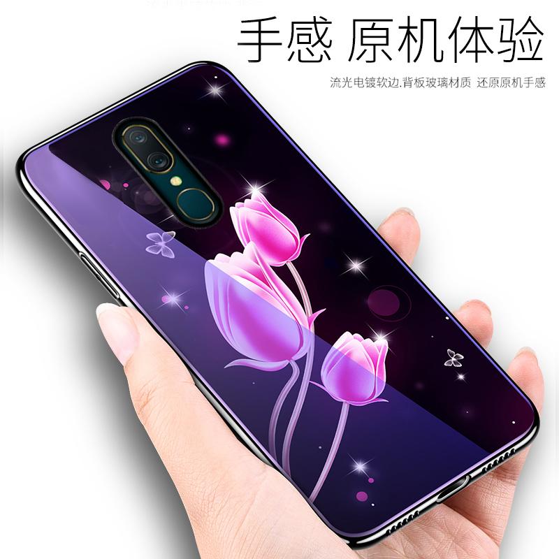 满19元可用5元优惠券oppoA9手机壳oppo A7保护套A9玻璃a7x手机壳PCAM10全包边PC