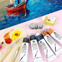 走廊壁畫手繪油畫客廳背景墻新中式裝飾畫玄關掛畫事事如意柿子畫