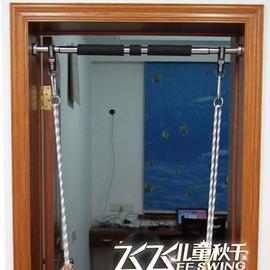 单杠门上单杠室内秋千架引体向上健身家用墙体免打孔门框吊环健身