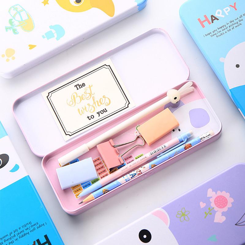 多功能大容量双层可爱小学生文具盒12月01日最新优惠