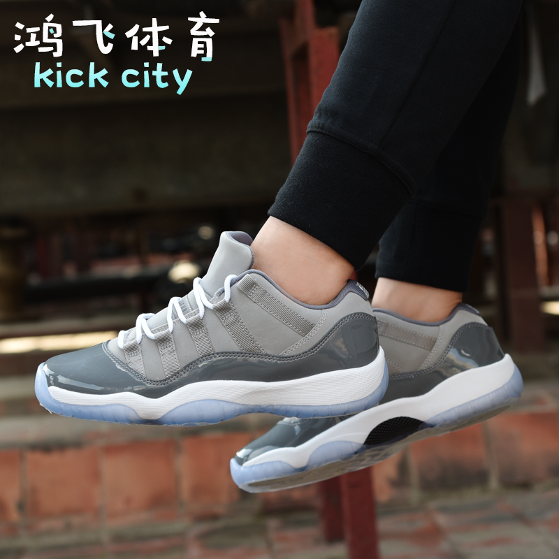 Air Jordan 11 Low Cool Grey AJ11 酷灰低帮 篮球鞋男528895-003