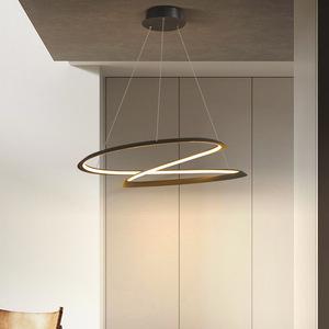 2021新款北欧圆形客厅花形餐厅灯