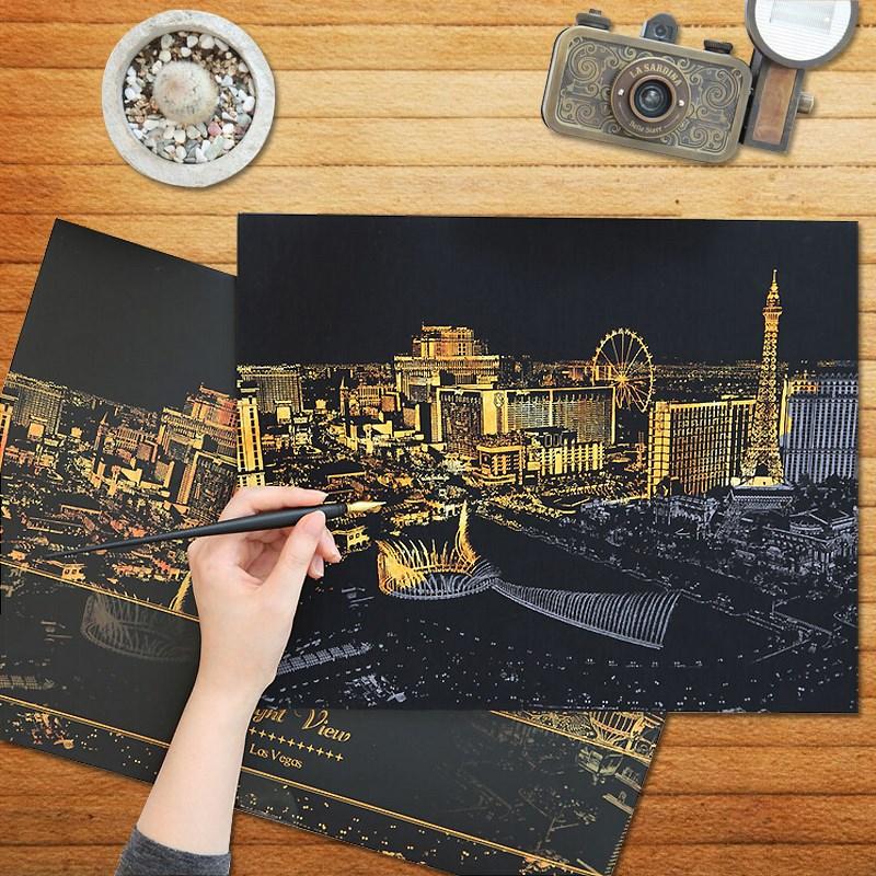 Картинки в технике Граттаж Артикул 599371425277