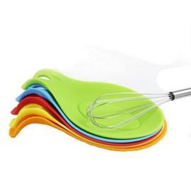 Kitchen Silicone Heat Resistant Cooking Gadget Spoon Holder图片
