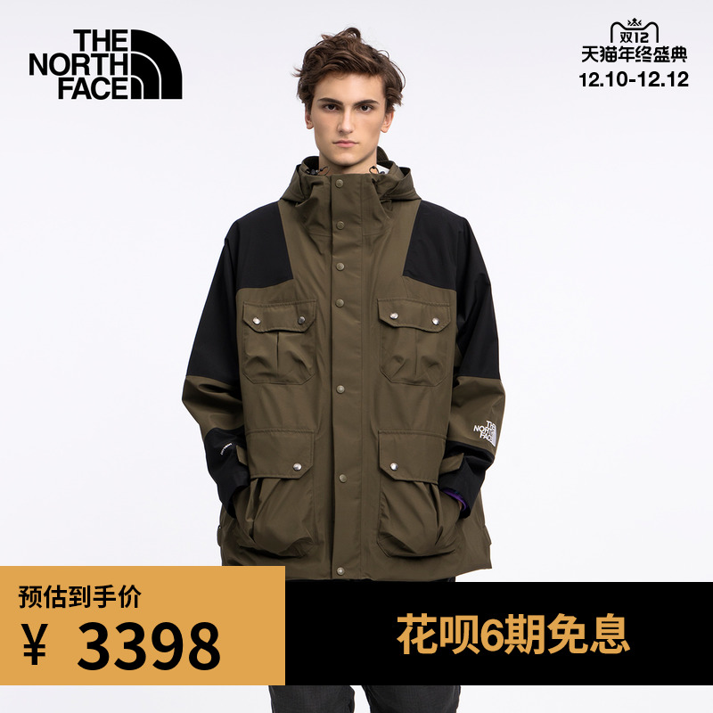 TheNorthFaceUE北面KK TRANSFORM DRYVENT JKT男长款外套|5AZX