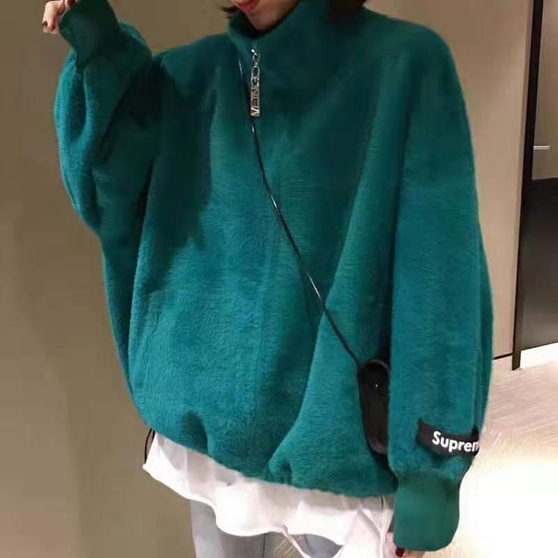 New mink like cashmere sweater for women in autumn and winter 2020
