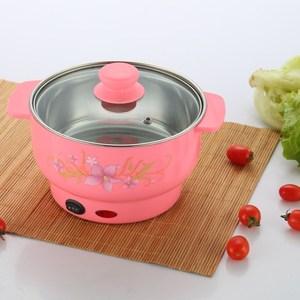 家用多功能电子炒菜锅火锅2一4人电煮锅小型厨房小电器电热锅