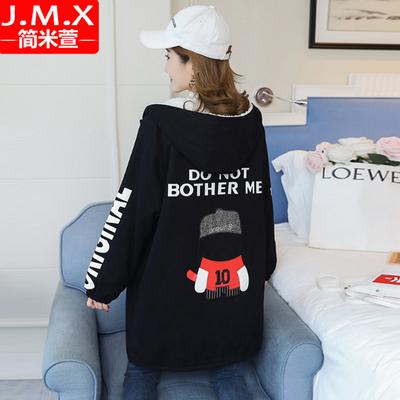 加绒加厚外套女冬装2019新款中学生韩版宽松中长款羊羔毛棉衣棉服