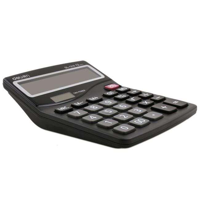 Office computer computer package 1210 desktop calculator 12 bit solar