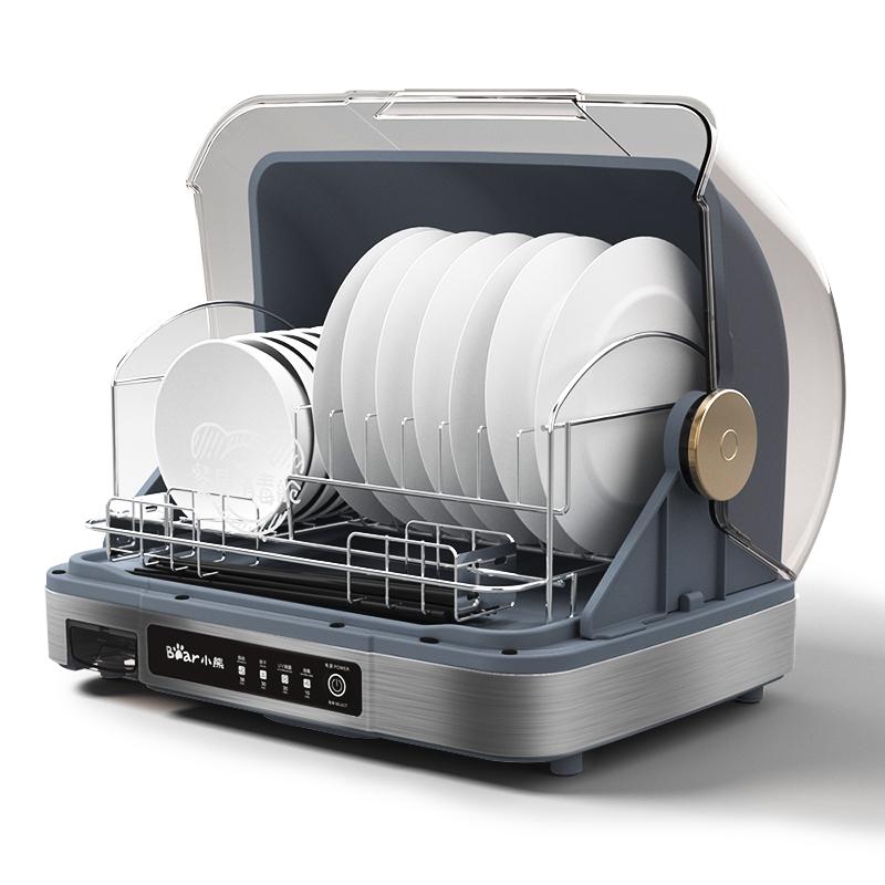 小熊消毒碗柜台式家用厨房小型筷子消毒机迷你高温碗筷消毒烘干机