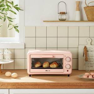 领10元券购买小熊家用小型双层烘焙多功能小烤箱