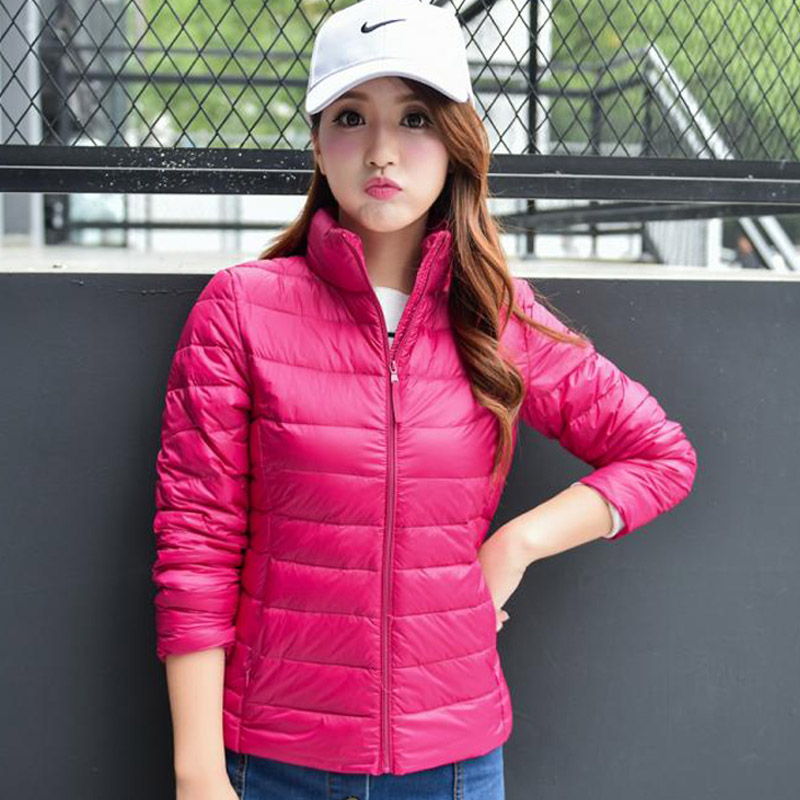 Down jacket womens special price light outdoor down jacket large size fattening coat leisure sports spring and autumn winter clothes