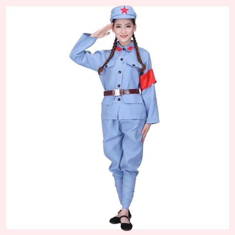 服装仪仗队旗手衣服制服抗战演出服装军装舞蹈三军同款服饰民国