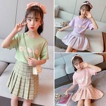 女童连衣裙10十11女大童女装夏装13小学生女孩14儿童裙子套装15岁