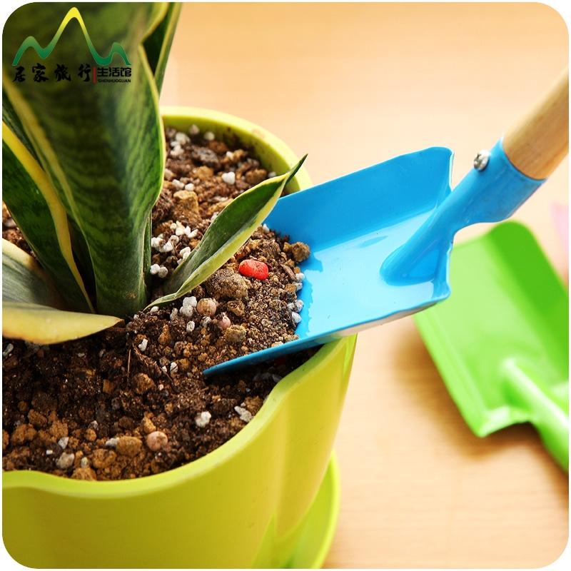Potted Mini spade for green plants, field flowers, multifunctional spade, household gardening tools, gardening supplies