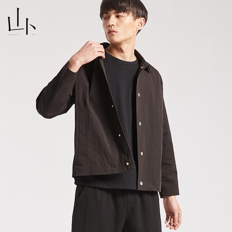 山卜カジュアルファッションジャケットメンズ2019新品短めの上着コートは簡単で便利です。