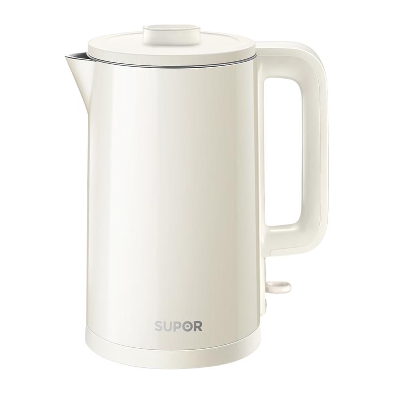 苏泊尔电热水壶家用1.5L全自动断电烧水壶电热保温一体开水茶壶
