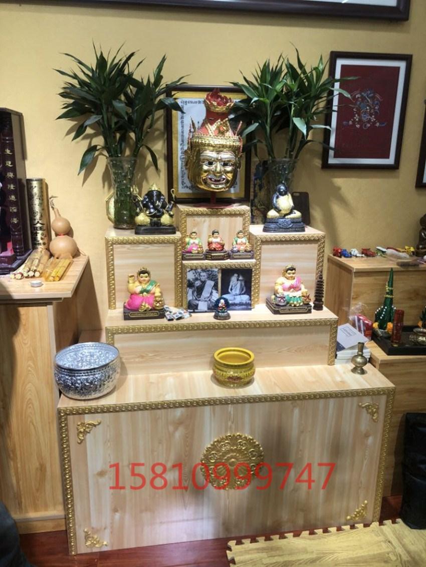 泰国佛牌木质台贡桌家用定做