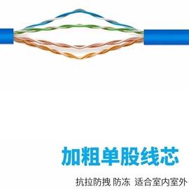 联网国标延长对接头加速插头专用宽带线两头网线宿舍用网络线学生图片