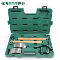 Shida Tool Set Auto Repair tool set to repair 6 sets of automotive sheet metal tools sheet metal lining Iron 09152