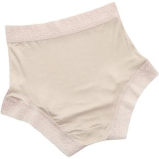 出口高端桑蠶絲真絲內褲女透氣舒適蕾絲三角包臀無痕平角內褲