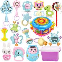 0-1岁婴儿玩具牙胶手摇铃3-6-12个月8益智男女孩早教新生幼儿宝宝