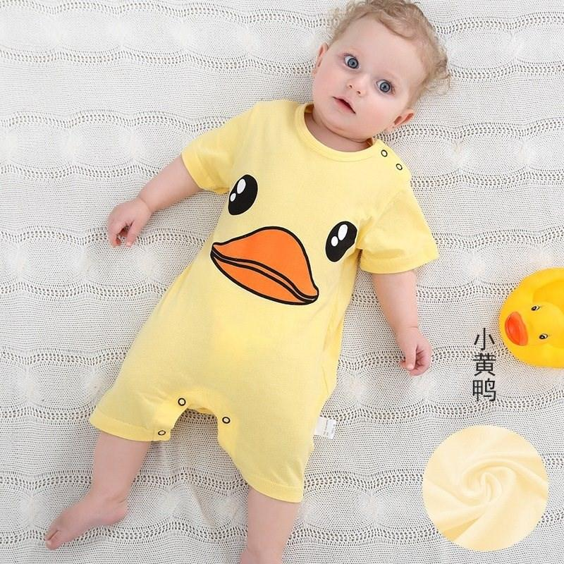 家庭夏裤服饰小号婴幼儿婴童大号新生连衣裤女婴宝宝衣服连体服