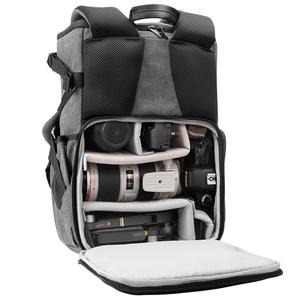 锐玛数码相机包帆布休闲摄影双肩单反包 地理背包佳能尼康微单包