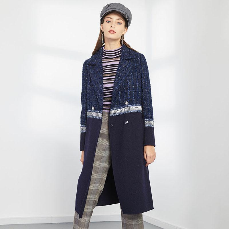 烟灰大衣怎么穿搭:雾霾蓝大衣搭配的方法