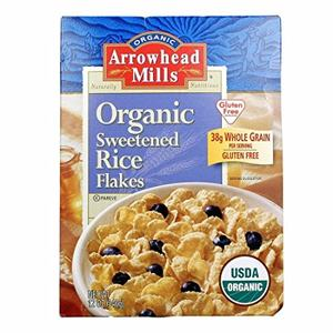 Arrowhead Mills Rice Flakes Sweetened Cereal 12 oz(pack of