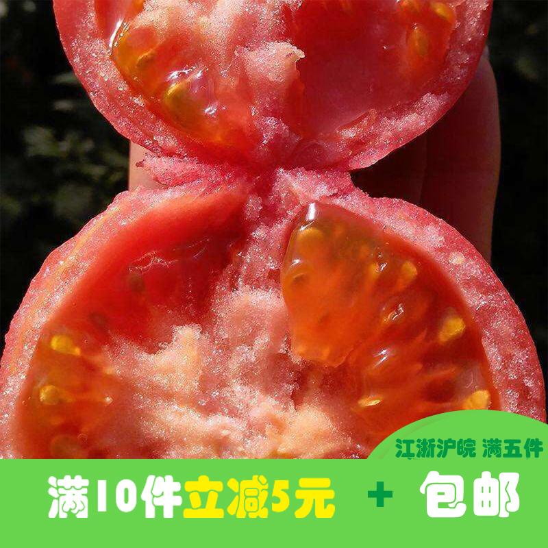 新鲜蔬菜大番茄农家自种现摘自然熟新鲜大西红柿500g