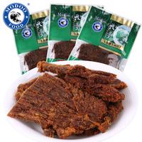 牧童食品沙嗲牛肉片500g牛肉类小吃特产休闲零食品牛肉干牛肉粒