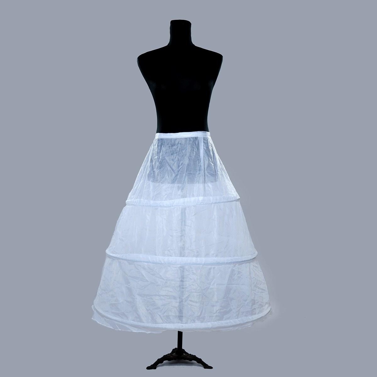 思嫁婚纱礼服 三圈裙撑
