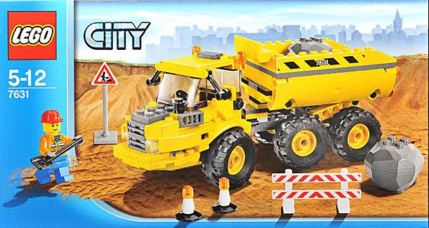 全新正品 乐高积木 LEGO 7631 城市系列 垃圾倾倒车 全新未拆封